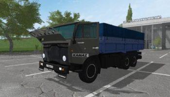 Мод грузовик КАМАЗ 53212 И ПРИЦЕП V2.2 для Farming Simulator 2015