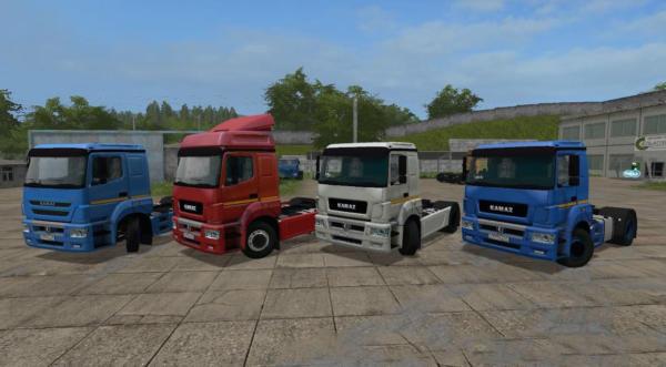 Мод грузовик КАМАЗ-5490 V 1.0 для Farming Simulator 2015