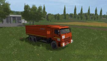 Мод грузовик КАМАЗ-552900 V1.0 для Farming Simulator 2015