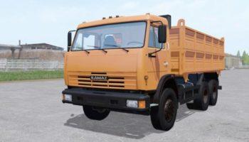 Мод грузовик КамАЗ 45143 v1.0 для Farming Simulator 2015