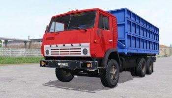 Мод грузовик КамАЗ 55102 6×4 v1.0 для Farming Simulator 2015