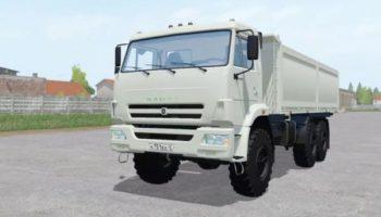 Мод грузовик КамАЗ 68900Р v1.0 для Farming Simulator 2015