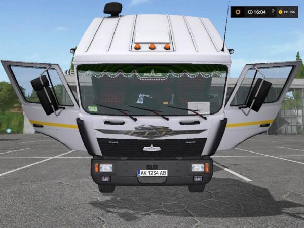 Мод грузовик МАЗ-6303 И ПРИЦЕП V1.3.0.01 для Farming Simulator 2015
