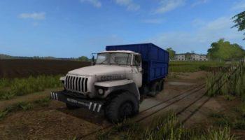 Мод грузовик Урал v1.0 для Farming Simulator 2015