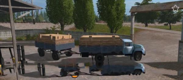 Мод грузовик ЗИЛ 130 БОРТОВОЙ V1.0 для Farming Simulator 2015