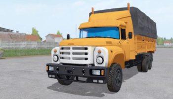 Мод грузовик ЗИЛ 133ГЯ 6X6 V1.0 для Farming Simulator 2015