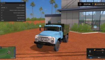 Мод грузовик ЗИЛ-4502 V5.6 для Farming Simulator 2015
