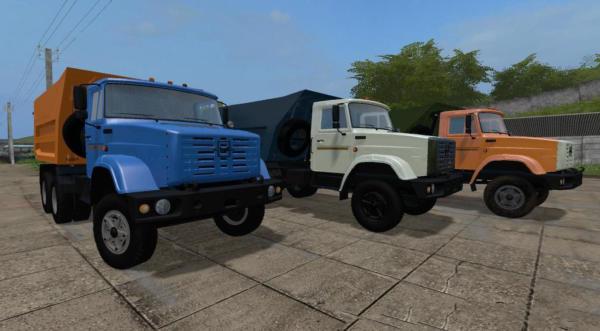 Мод грузовик ЗИЛ 4514 V1.3.0.6 для Farming Simulator 2015