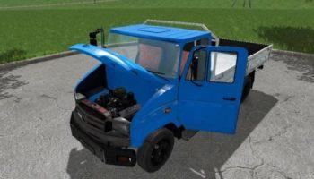 Мод грузовик ЗИЛ 5301АО 1996 V2.1 для Farming Simulator 2015