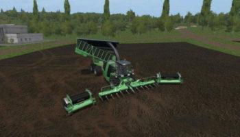 Мод комбайн KRONE BIG X 1100 CARGO V3.0 для Farming Simulator 2015