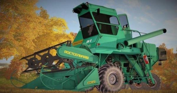 Мод комбайн НИВА-СК5 v1.0 для Farming Simulator 2015