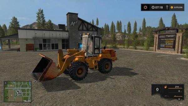 Мод погрузчик АМКОДОР AMCODER TO18 V1.2 для Farming Simulator 2015