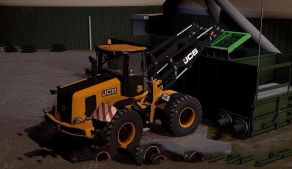 Мод погрузчик JCB435S EDIT BY CHRIS для Farming Simulator 2015