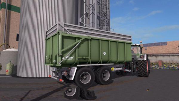 Мод прицеп FLIEGL TMK TANDEM V1.0 для Farming Simulator 2015