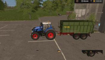 Мод прицеп HILKEN FTM TANDEM V1.1 для Farming Simulator 2015