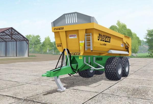 Мод прицеп Joskin Trans-KTP 22-50 v1.0 для Farming Simulator 2015