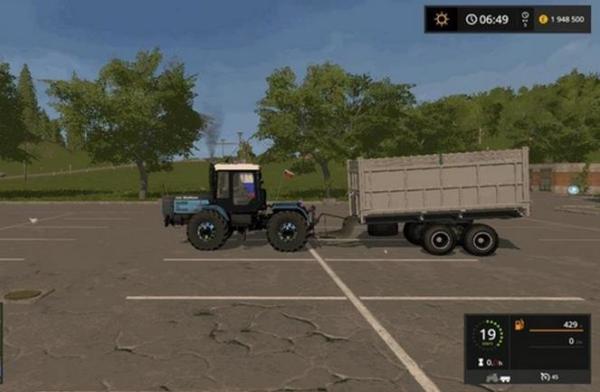 Мод прицеп ПТС 9 V3.2 для Farming Simulator 2015