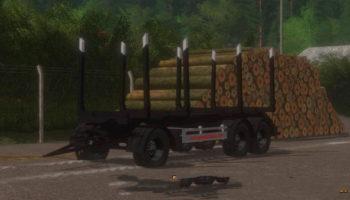 Мод прицеп SCHWARZMULLER 3 ACHSER RUNGENANHANGER V1.0 для Farming Simulator 2015