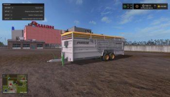 Мод прицеп скотовоз для карты Россия v16.03.19 для Farming Simulator 2015