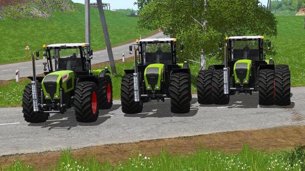 Мод трактор Claas Xerion 3000 Series v1.1 для Farming Simulator 2015
