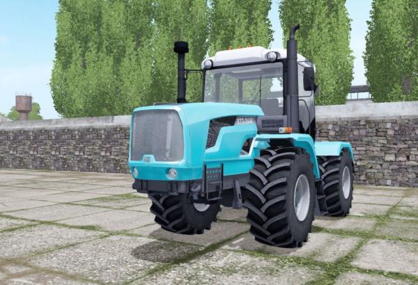 Мод трактор ХТЗ 244К спаренные колёса v1.0 для Farming Simulator 2015