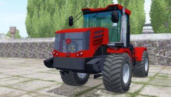Мод трактор Кировец К-744Р4 спаренные колёса v2 для Farming Simulator 2015