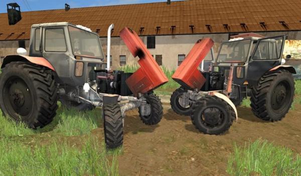Мод трактор МТЗ 82.1 BELARUS TURBO V1.0 для Farming Simulator 2015