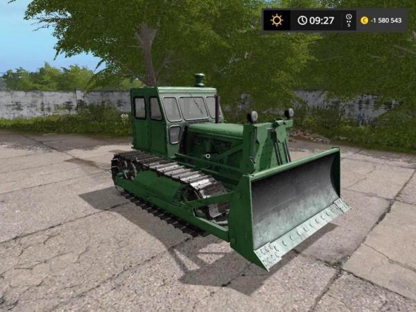 Мод трактор T-100M V2.0 для Farming Simulator 2015
