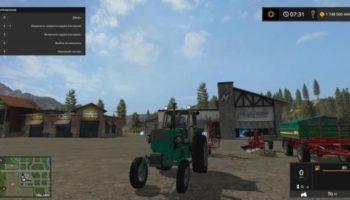Moд трактор ЮМЗ-6КЛ V1.0 для Farming Simulator 2015