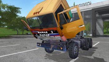 Мод тягач КАМАЗ 5410 СТАЛКЕР V1.1 для Farming Simulator 2015