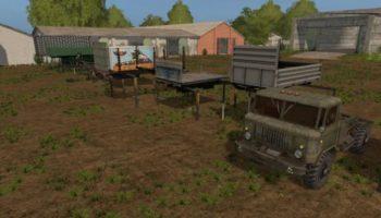 Мод ГАЗ ПАК V1.2 для Farming Simulator 2015