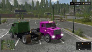 Мод ЗИЛ ММЗ 555 тягач v1.0 для Farming Simulator 2015