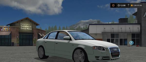 Мод авто AUDI A4 AVANT QUATTRO v1.0 для Farming Simulator 2015