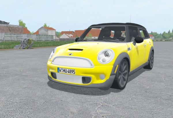 Мод авто MINI CLUBMAN R55 V2.0 для Farming Simulator 2015