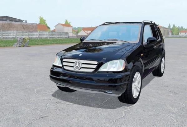 Мод авто Mercedes-Benz ML 430 (W163) 1999 v1.0 для Farming Simulator 2015