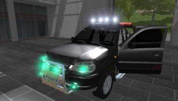 Мод авто НИВА CHEVROLET V1.1 для Farming Simulator 2015