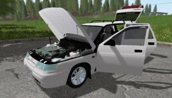 Мод авто ВАЗ 2111 V2.0 для Farming Simulator 2015