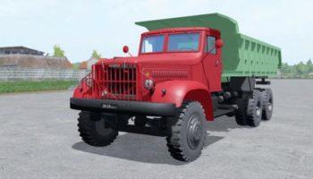Мод грузовик КРАЗ 222 V1.0 для Farming Simulator 2015
