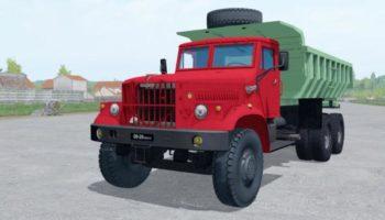 Мод грузовик КРАЗ 256Б V1.0 для Farming Simulator 2015