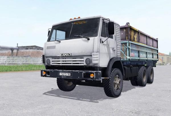 Мод грузовик КамАЗ 5320 с прицепом ГКБ 8551 v1.0 для Farming Simulator 2015
