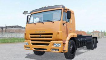 Мод грузовик КамАЗ 658667-2032-02 v1.0 для Farming Simulator 2015