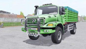 Мод грузовик Mercedes-Benz Zetros 1833 A 2008 v1.1 для Farming Simulator 2015