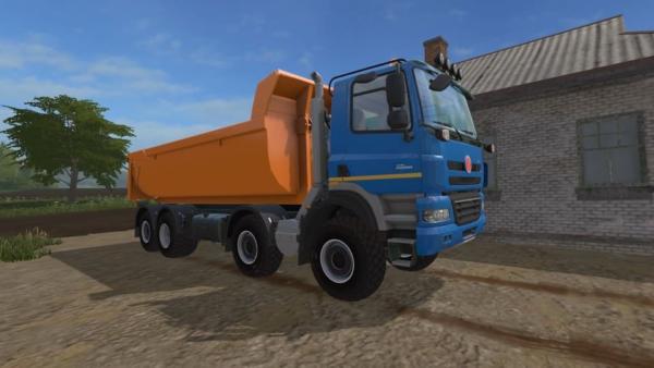 Мод грузовик TATRA PHOENIX 8X8 ITRUNNER V1.0 для Farming Simulator 2015