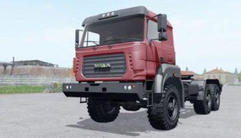 Мод грузовик УРАЛ 44202-3511-82М V2.0 для Farming Simulator 2015