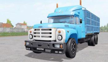 Мод грузовик ЗиЛ-133ГЯ Крокодил v1.0 для Farming Simulator 2015
