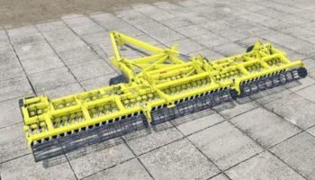 Мод плуг Degelman Pro-Till 40 для Farming Simulator 2015