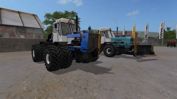 Мод трактор ХТЗ Т-150К V1.0 для Farming Simulator 2015