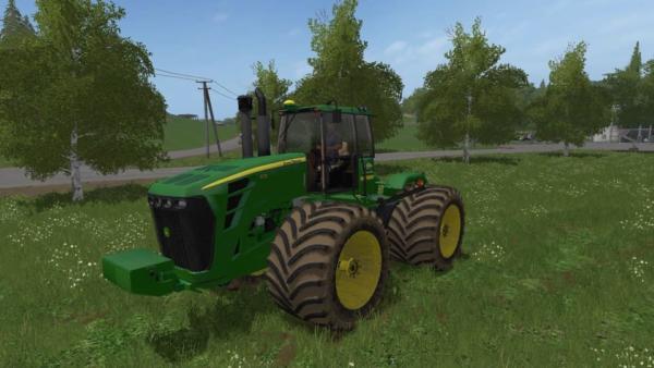 Мод трактор JOHN DEERE 9030 V4.1 для Farming Simulator 2015