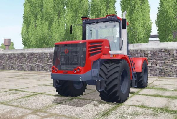 Мод трактор Кировец К-744Р4 с выбором конфигураций v2.0 для Farming Simulator 2015