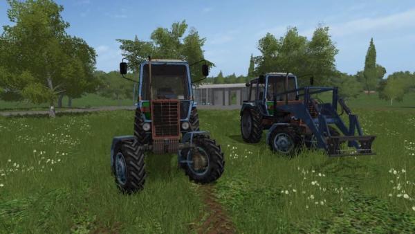Мод трактор МТЗ-100 V1.0 для Farming Simulator 2015